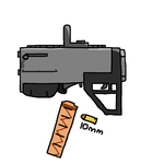 CopCorp 10mm smg (For a yet unnamed project) by greg11922
