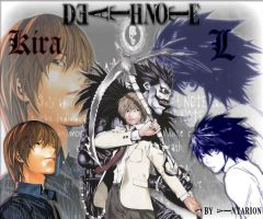 Deathnote collage by Vinyarion