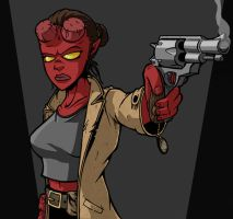 HellGirl - Color by ThatGuyWill
