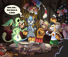 Event- #1- The Hollowbean Trick or Treat by BitsAndStitch