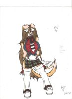 nia Thomson colored by Omnoproxyl337