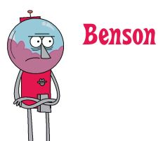 Benson from Regular Show by Percyfan94