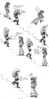 Castlevania Comic - Stairs - by Peachy-chan