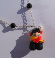 Necklace with Harry Potter like an elf by Elfetta2007