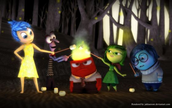 Hallow-mallow with Inside Out by Jakkaeront