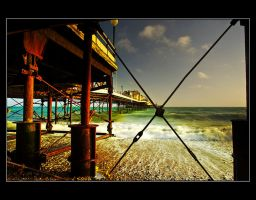 Pier Amusements by q-118