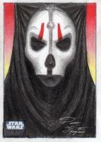 Star Wars G6 - Nihilus Sketch Art Card by DenaeFrazierStudios