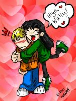 Kuki and Wally by ramhay