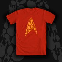 Bodly Going Star Trek Tee Shirt Design by Tsubasa-No-Kami