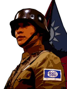 88th Division Guy Cel Shading by Miborovsky
