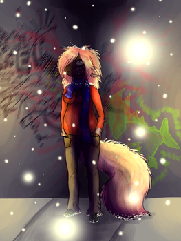 The Sky Has Dandruff Again by Ivoruvero