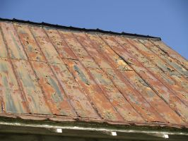 Rusty Roof 2 by Irie-Stock
