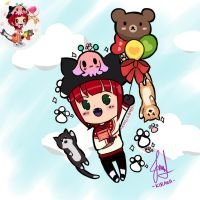 Line Play - Chili Candy by Kirara-CecilVenes