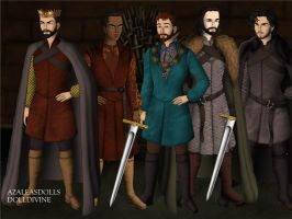 Top five male characters by SingerofIceandFire