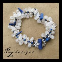 Frozen Tears Bracelet by PurlyZig