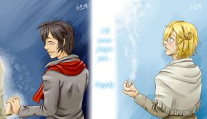 I'll never forget you... by Yotsuba-no-Clover