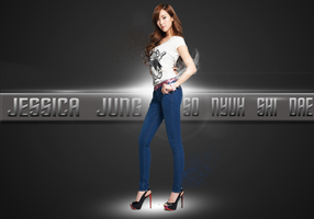 SNSD JESSICA WALLPAPER VERSION 2 by ExoticGeneration21