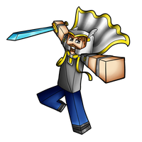 Minecraft Avatar - Prezleek by GoldSolace