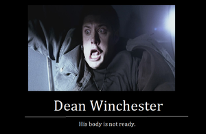 Dean  is not ready by The-False-Fantard
