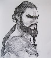 Khal Drogo - Game of Thrones by TheAngryMammoth