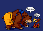 Banjo-Kazooie by Aviarei