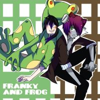 Frankie and Frog by Kio-kio