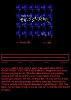 Scary Moments In Gaming: Sonic CD Hidden Message by 7BlackBoo