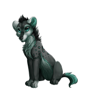 Alaskie comission by LiaBorderCollie