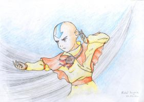 Avatar Aang by Xpuk