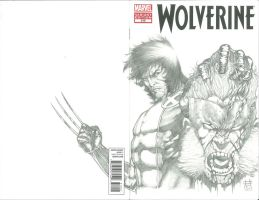Wolverine 310 Sketch Cover by Ace-Continuado