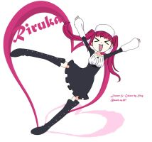 Riruka chibi - bleach episode 357 by Citthru