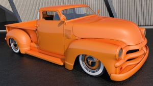 1954 Chevrolet 3100 Pickup by SamCurry