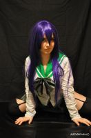 saeko busujima  cosplay high school of the dead by ValeeraHime