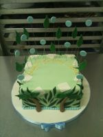 Jungle Cake by Spudnuts