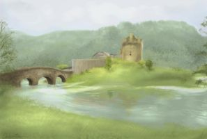 Scotland Landscape by spiritwolf77