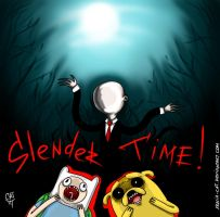 Slender Time with Finn and Jake by Xenia-Cat