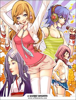 KISEKI Girls by lely