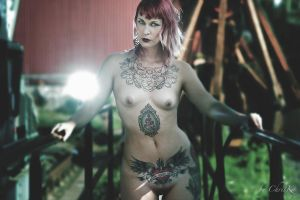 Lady Macabre IV by ChrisK-photo