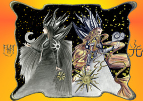 Clow cards - Light and Dark by Tigreperro