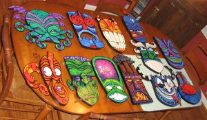 All My tikis by ATLbladerunner