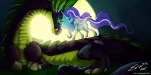 Nightmare Rarity and Nightmare Spike by Eztp