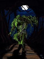 Swamp Thing by John Yuan by TheYuanTwins