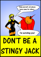 Don't Be A Stingy Jack by ivy7om
