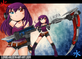 I'n back .:Laura's new ref:. by LorSean