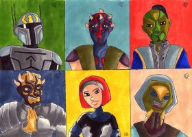 Sketch Card: Eminence/ Shadow Collective by Giorgia99