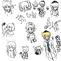 Misc Doodles by NAKino