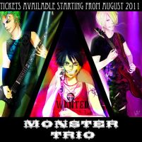 One piece: The Monster Trio by SaraSama90
