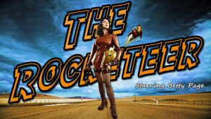 Betty as The Rocketeer starring Riddle1 by SWFan1977