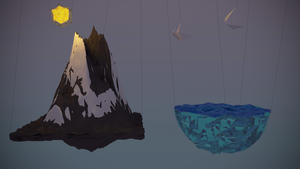 Low Poly Scene by TheShizzArts