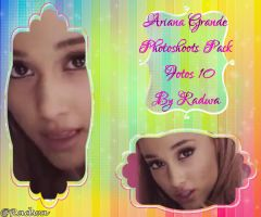 Ariana Grande Photoshoots Pack 10 Fotos By Radwa by RaaDWaa